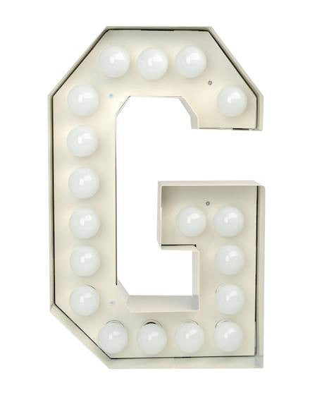 Vegaz Metal Letter Lighting - Coveted Gifts - 8