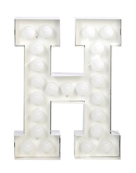 Vegaz Metal Letter Lighting - Coveted Gifts - 9