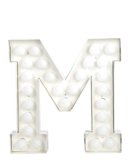 Vegaz Metal Letter Lighting - Coveted Gifts - 14