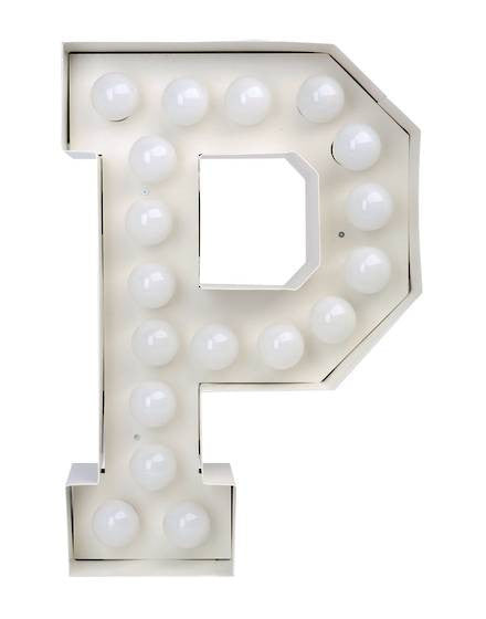 Vegaz Metal Letter Lighting - Coveted Gifts - 17