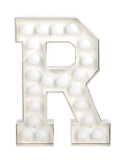 Vegaz Metal Letter Lighting - Coveted Gifts - 19