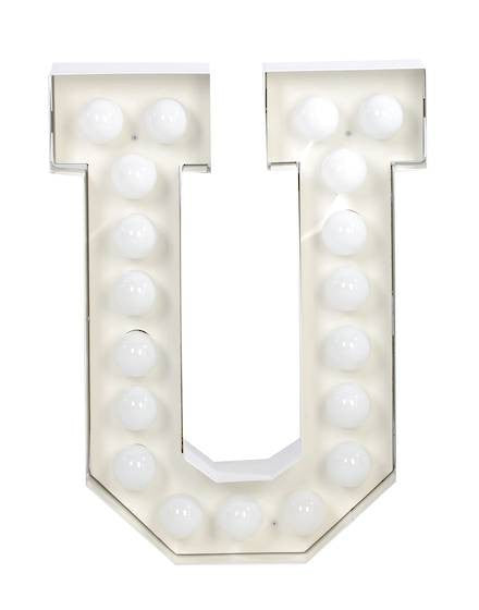 Vegaz Metal Letter Lighting - Coveted Gifts - 22