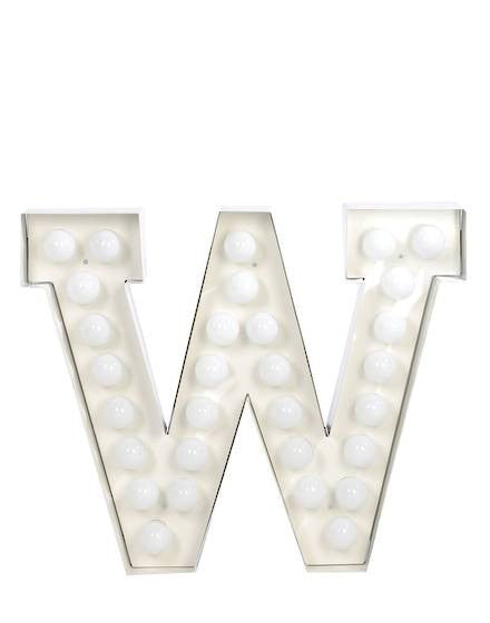 Vegaz Metal Letter Lighting - Coveted Gifts - 24