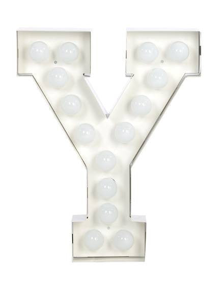Vegaz Metal Letter Lighting - Coveted Gifts - 26