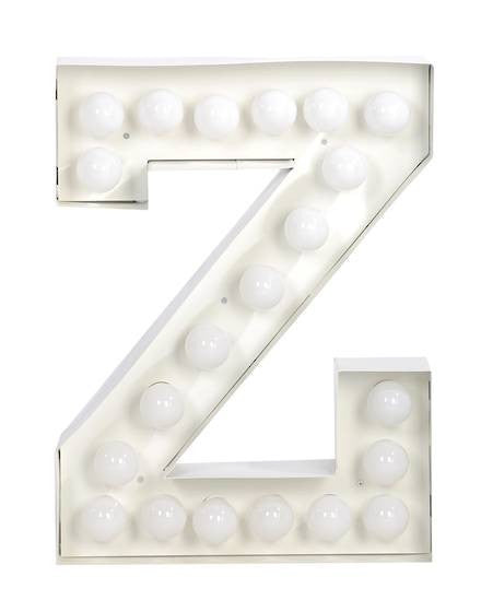 Vegaz Metal Letter Lighting - Coveted Gifts - 27