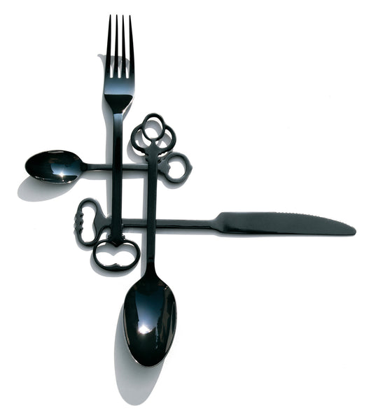 Keytlery Cutlery Set, Black - Coveted Gifts - 1