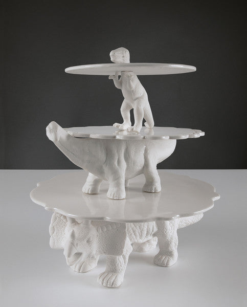 Sauria T Rex Cakestand - Coveted Gifts - 3