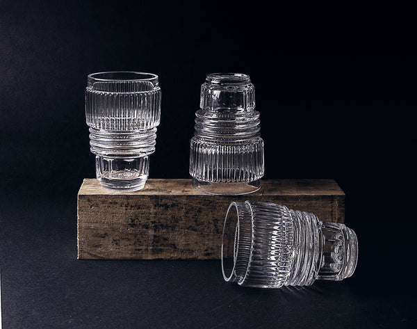 Machine Collection Drinking Glass Set, Large - Coveted Gifts - 3