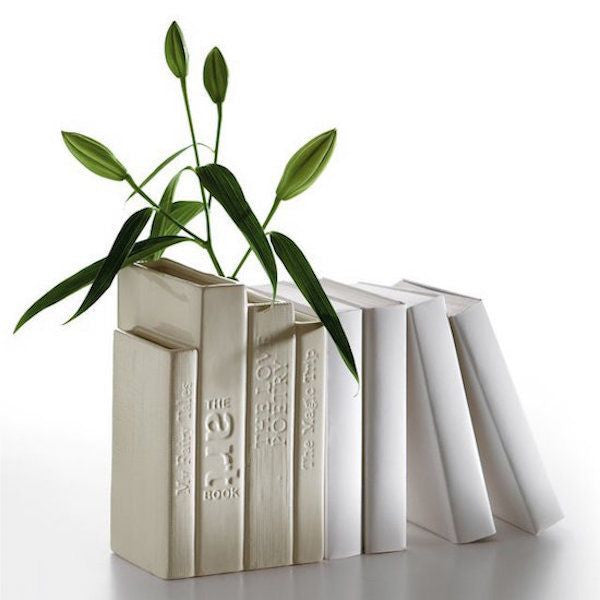 Biblio-Tek Book Shaped Vase - Coveted Gifts - 2
