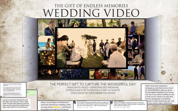 Wedding videography fund