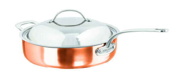 Escoffier Tri-Ply Saute Pan - Coveted Gifts - 1
