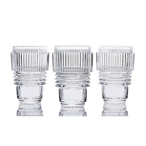 Machine Collection Drinking Glass Set, Large - Coveted Gifts - 1