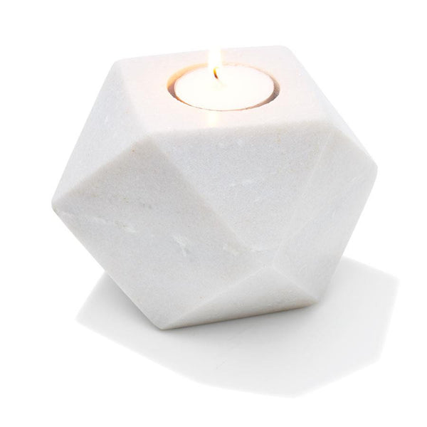 Marble Tealight Candle Holder - Coveted Gifts
