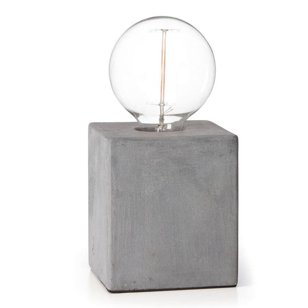 Concrete Base Lamp - Coveted Gifts