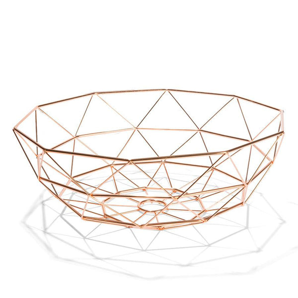 Wire Fruit Bowl - Coveted Gifts - 2