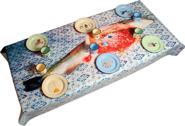 Fish Tablecloth - Coveted Gifts - 3