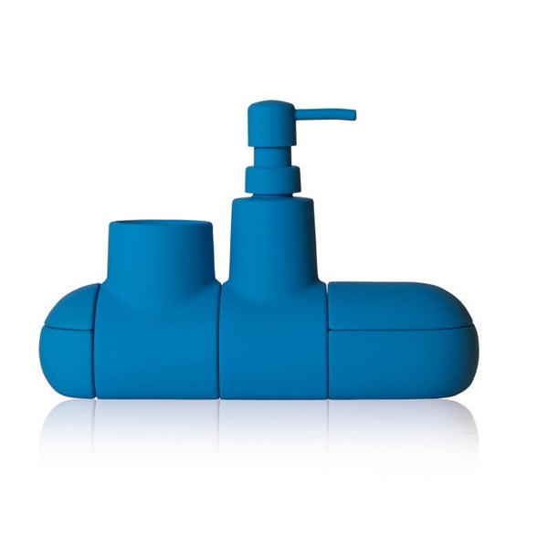 Submarino Bathroom Accessory Set - Blue - Coveted Gifts - 2