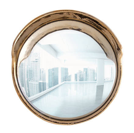 Focalize Convex Mirror, Gold Edition - Coveted Gifts - 1