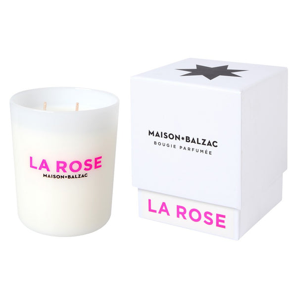La Rose Candle, 380g - Coveted Gifts