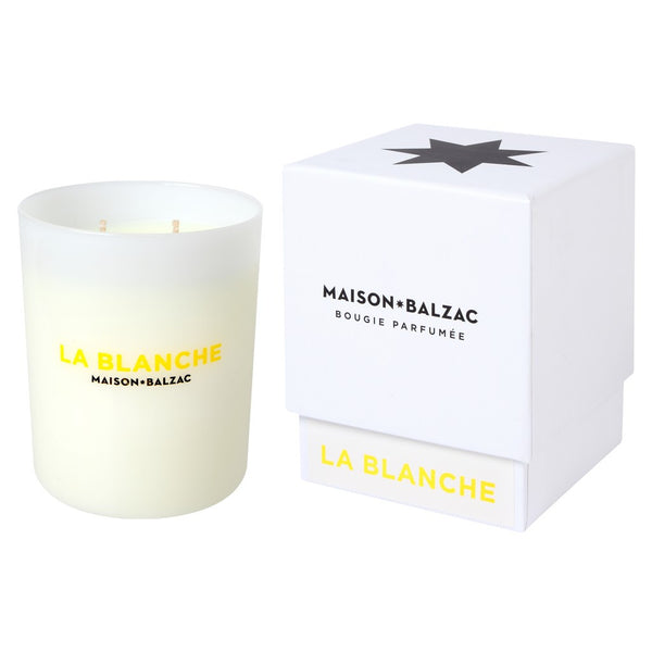 La Blanche Candle, 380g - Coveted Gifts
