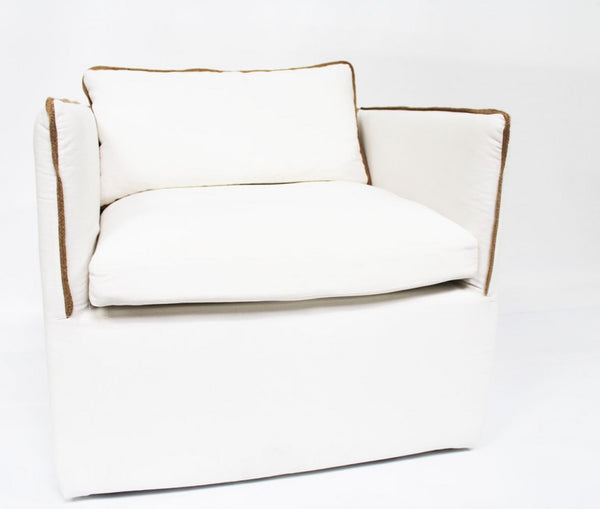 Argo Chair, Off White - Coveted Gifts