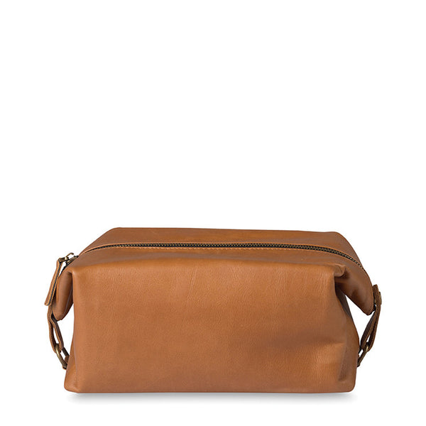 Cadet Leather Wash Bag - Coveted Gifts - 1