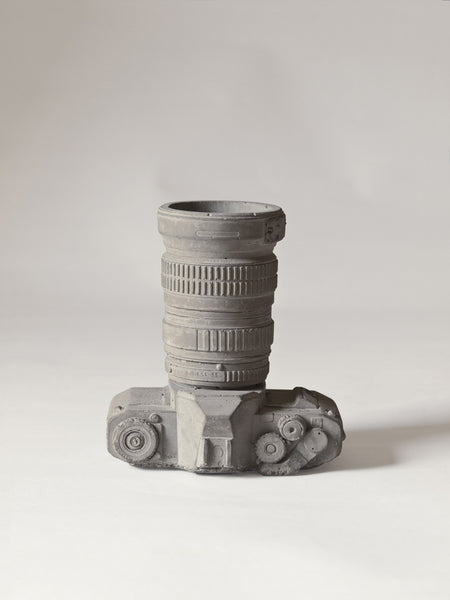 Camera Vase | Object Holder, Concrete - Coveted Gifts - 2