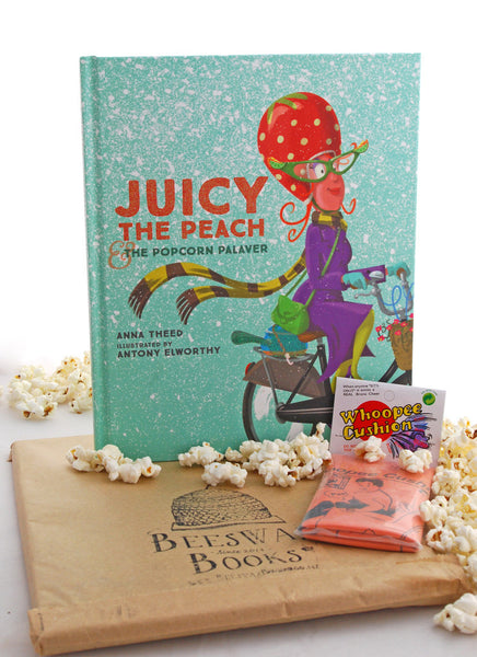 Juicy the Peach & the Popcorn Palaver Book - Coveted Gifts - 1