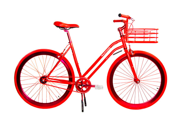 Martone Grammercy Womens Bike Red - Coveted Gifts - 1