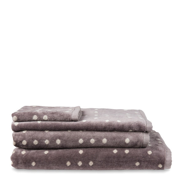 Dieter Dot Velour Towel Collection - Coveted Gifts - 1