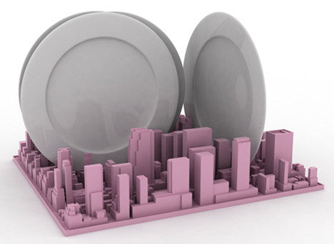 Inception Dish Rack | Desk Organiser, New York City - Coveted Gifts - 4