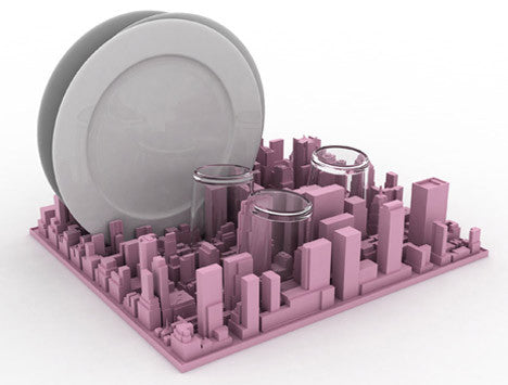 Inception Dish Rack | Desk Organiser, New York City - Coveted Gifts - 2