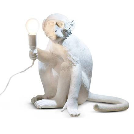 Monkey Lamp, Sitting - Coveted Gifts - 1