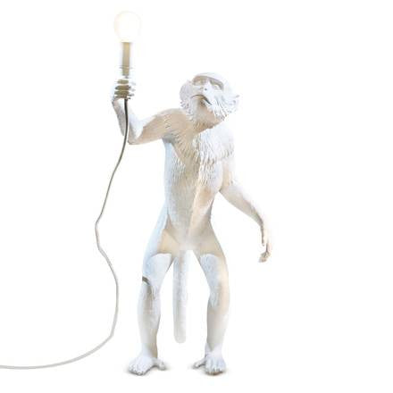 Monkey Lamp, Standing - Coveted Gifts - 1