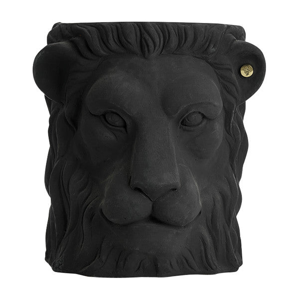 Lion Pot, Terracotta - Coveted Gifts - 1