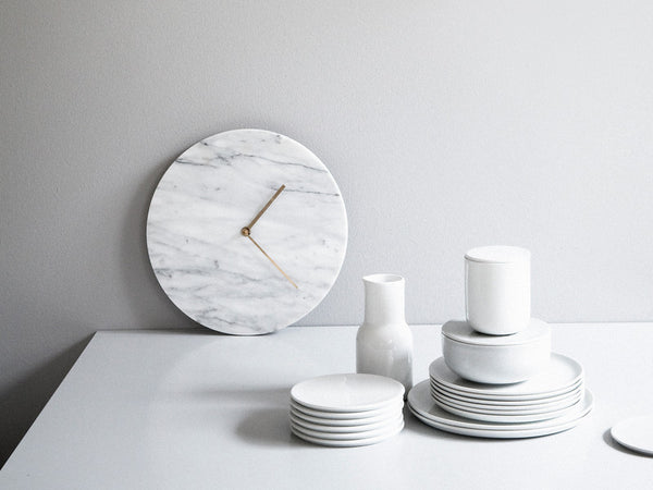 Wall Clock by NORM Architects - Marble - Coveted Gifts - 6