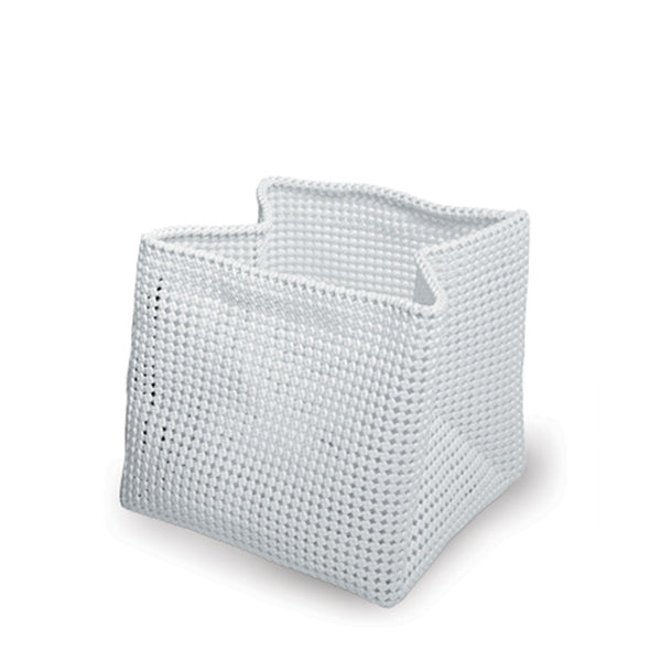 Plastic Weave Newspaper Basket - Coveted Gifts - 2