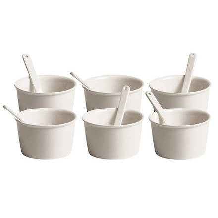 Estetico Quotidiano Ice Cream Bowl Set - Coveted Gifts - 1