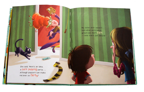 Juicy the Peach & the Popcorn Palaver Book - Coveted Gifts - 5