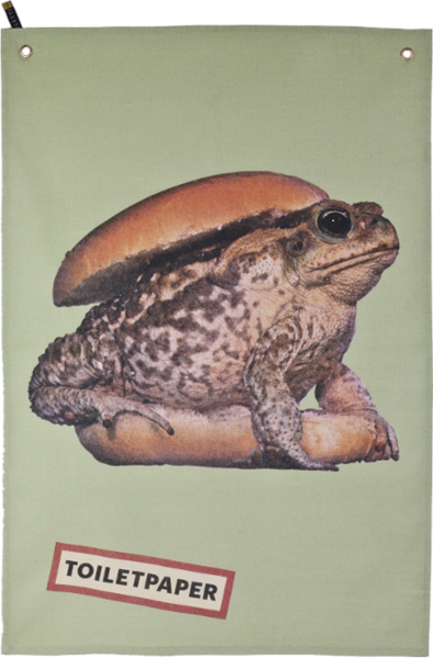 Toad Tea Towel - Coveted Gifts - 1