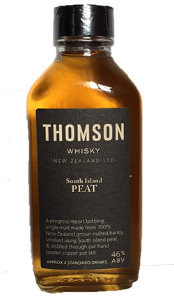 South Island Peat Whisky, Mini 100ml
