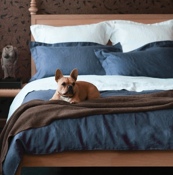 Vida Stonewashed Linen Duvet Cover - Coveted Gifts - 6