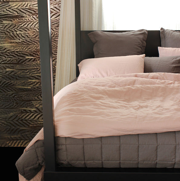 Vida Stonewashed Linen Duvet Cover - Coveted Gifts - 7