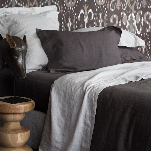 Vida Stonewashed Linen Duvet Cover - Coveted Gifts - 3