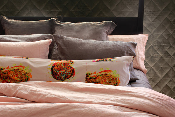 Vida Stonewashed Linen Pillowcases - Coveted Gifts - 4