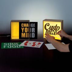 LED Lighthink Boxes, Small - Coveted Gifts - 5