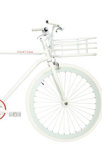 Martone Real Men's Bike White - Coveted Gifts - 2