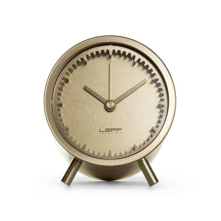 Tube Series Clock - Brass - Coveted Gifts - 2