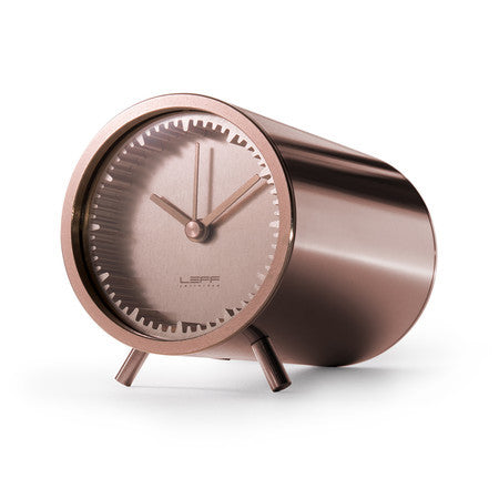 Tube Series Clock - Copper - Coveted Gifts - 1