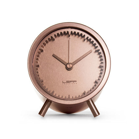 Tube Series Clock - Copper - Coveted Gifts - 2